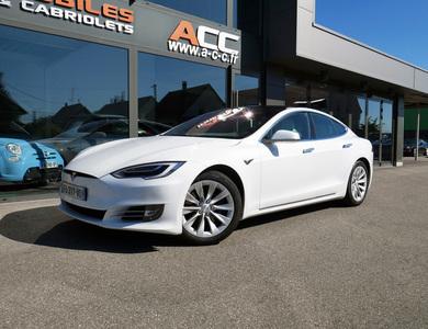 Tesla Model S à Blotzheim (Haut-Rhin)