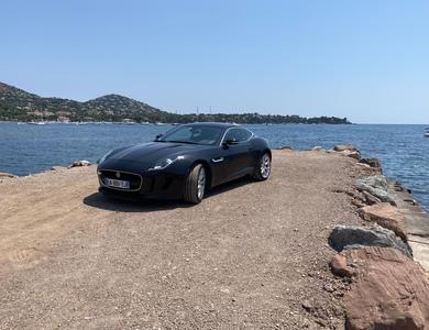 Jaguar F Type à Saint-Raphaël (Var)
