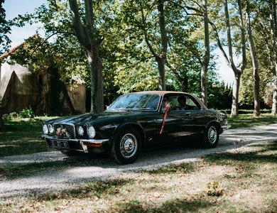Jaguar Xj-c à Prades (Pyrénées-Orientales)