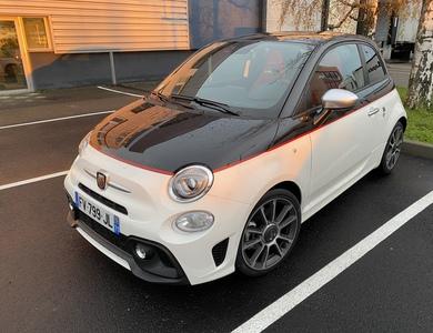 Fiat Abarth 595 Turismo Monza à Mâcon (Saône-et-Loire)