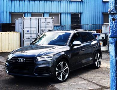 Audi Sq5 à Chilly-Mazarin (Essonne)