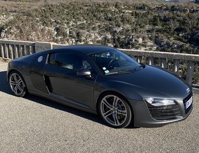 Audi R8 à Nice (Alpes-Maritimes)