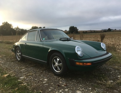 Porsche 912e à Pontacq (Pyrénées-Atlantiques)