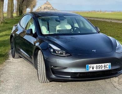 Tesla Model 3 Long Range 2021 à Rennes (Ille-et-Vilaine)