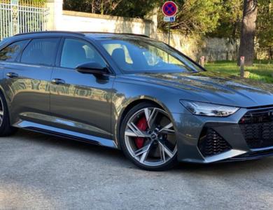 Audi Rs6 à Paris (17ème arr.)