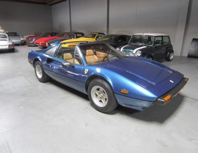 Ferrari 308 Gts à Robion (Vaucluse)