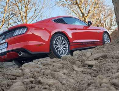 Ford Mustang à Mulhouse (Haut-Rhin)