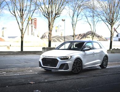 Audi A1 à Cergy (Val-d'Oise)