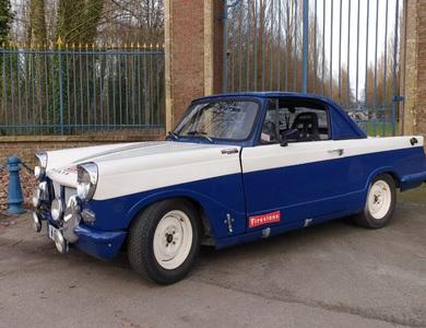Triumph Herald 1200 Michelotti à Marcq-en-Barœul (Nord)