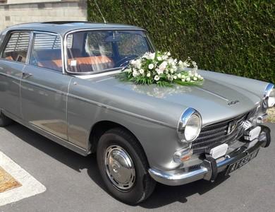 Peugeot 404 à Châlons-en-Champagne (Marne)