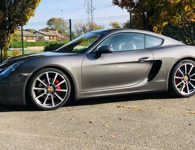 Porsche Cayman S à Clermont-Ferrand (Puy-de-Dôme)