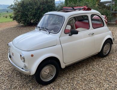 Fiat 500 à Val d'Oingt (Rhône)