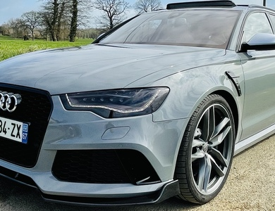 Audi Rs6 à Bischheim (Bas-Rhin)
