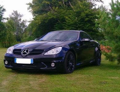 Mercedes-benz Slk 55 Amg à Donnenheim (Bas-Rhin)
