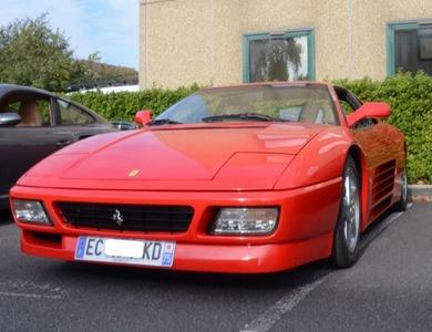Ferrari 348 Tb à Croissy (Yvelines)