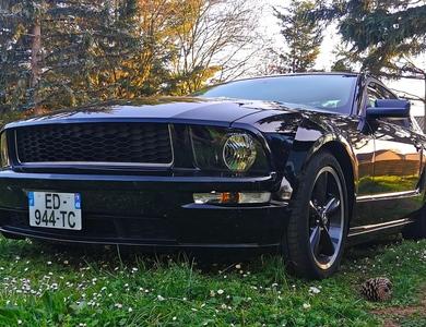 Ford Mustang Bullitt N°1593 à Poitiers (Vienne)