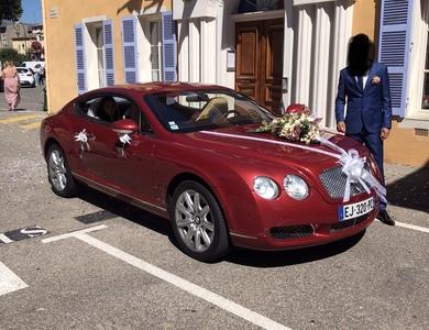Bentley Continental Gt à Villeneuve-Loubet (Alpes-Maritimes)