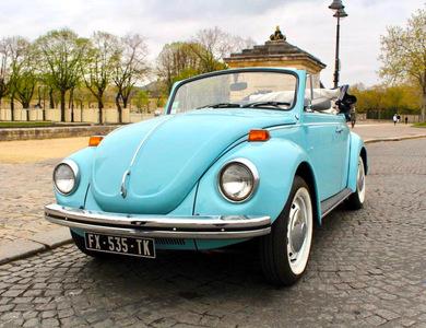 Volkswagen (vw) Coccinelle Cabriolet à Paris (7ème arr.)