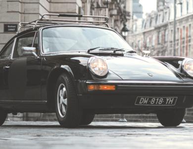 Porsche 912e à Lille (Nord)