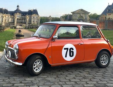 Austin Mini à Sucy-en-Brie (Val-de-Marne)