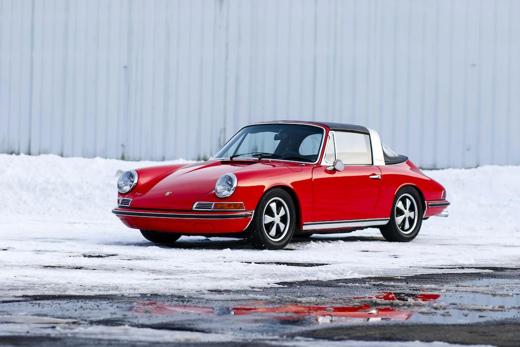 Porsche 912 Targa rouge