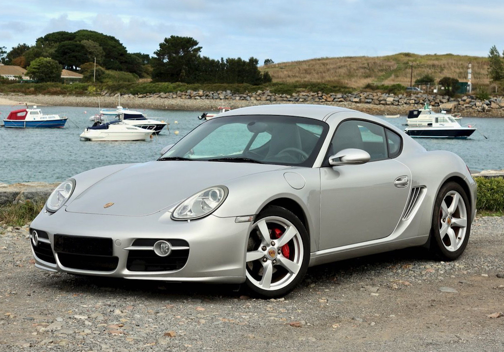 Porsche Cayman 987 Grise