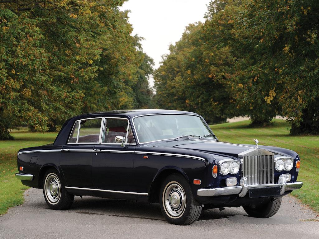 Rolls Royce Silver Shadow bleue