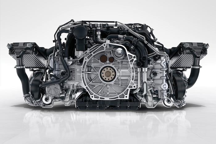 Porsche 992 moteur 3L