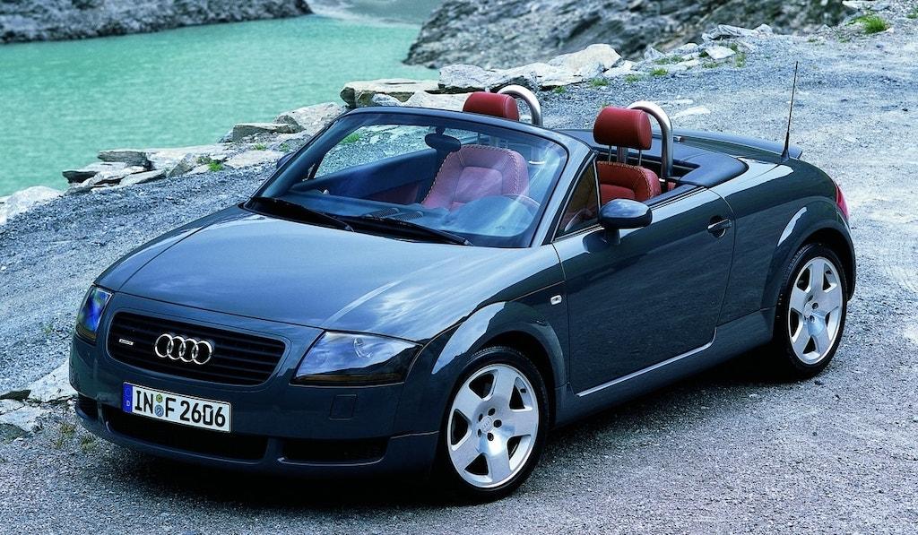 Audi TT Mk1 Roadster grise