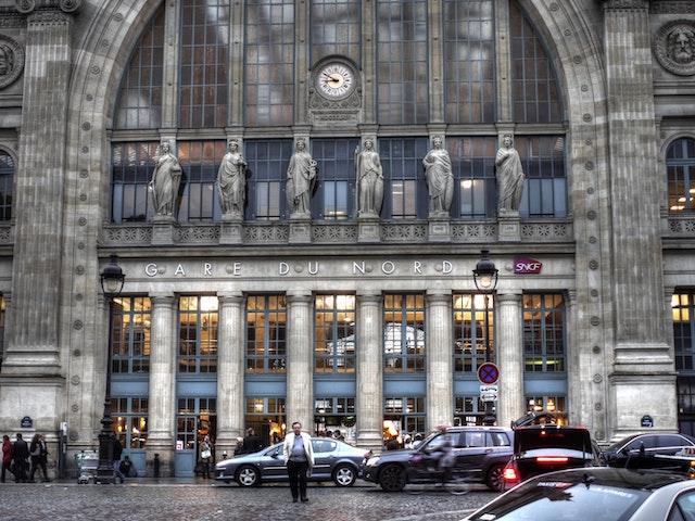 Paris Gare du Nord façade