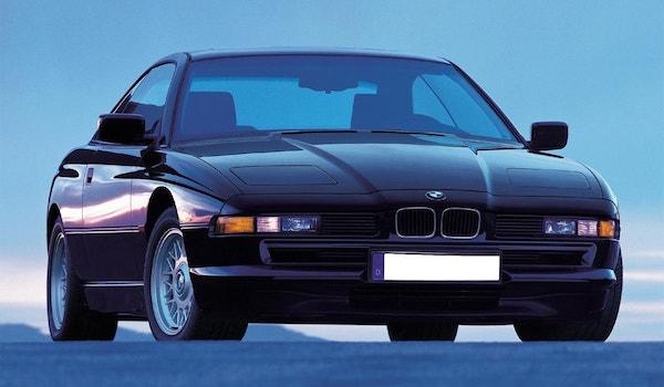 BMW 850i 3/4 face