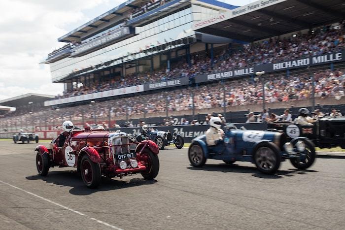 Course historique Le Mans Classic