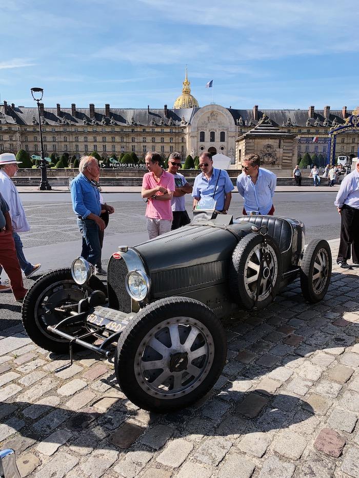 Bugatti Type 35 aux Invalides à Paris