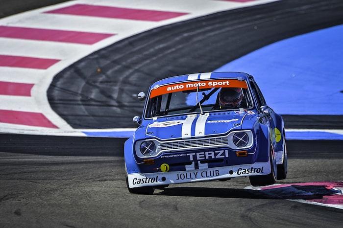 Ford Escort de circuit au Castellet