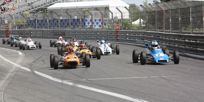 Formule Ford historique au Grand Prix de Pau
