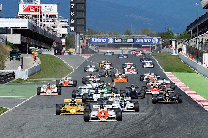 Formules 2 sur le circuit de Montjuïc
