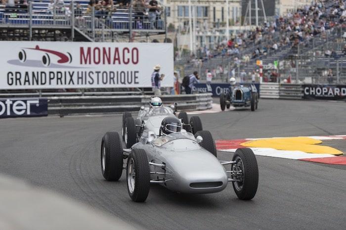 Porsche 804 Formula 1 et Porsche 718 Formula 1 au Grand Prix de Monaco Historique