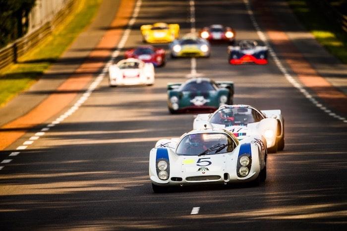 Porsche 908 au Mans Classic