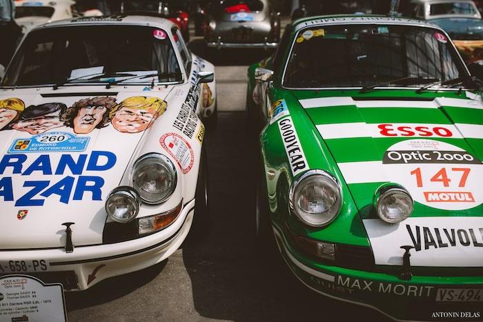 Deux Porsche 911 Carrera RSR 2.8L