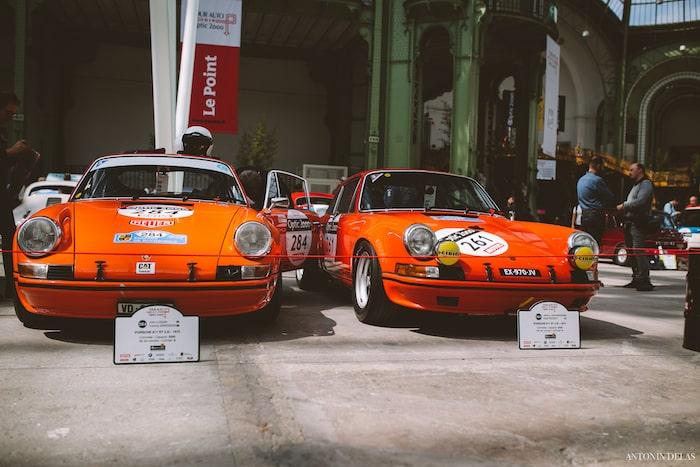 Deux Porsche 911 ST 2.5L