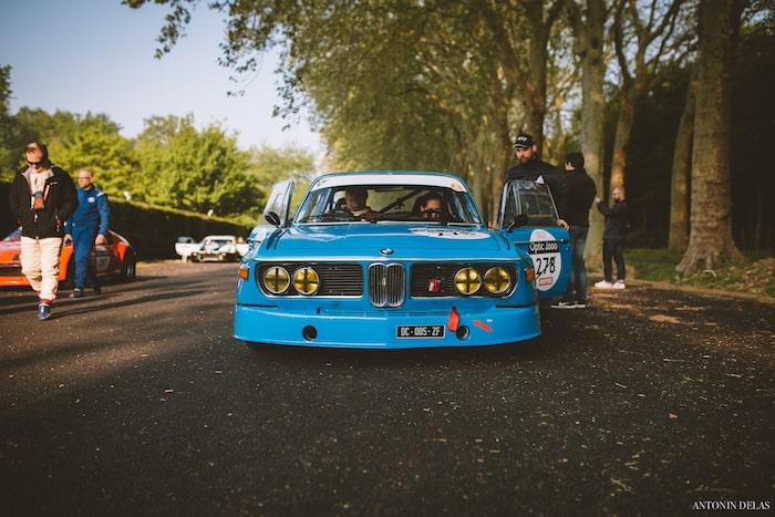 BMW 3.0 CSL bleue