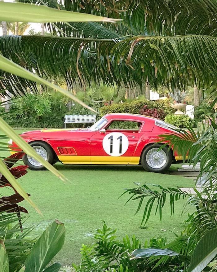 Ferrari 250GT LWB Berlinetta de 1959 rouge et jaune