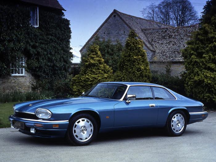 Jaguar XJS V12 bleue
