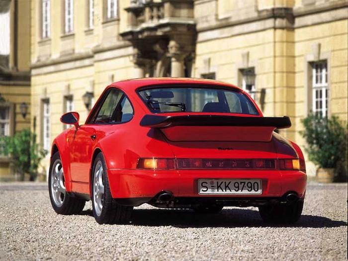 Porsche 911 964 Turbo 3.3 rouge
