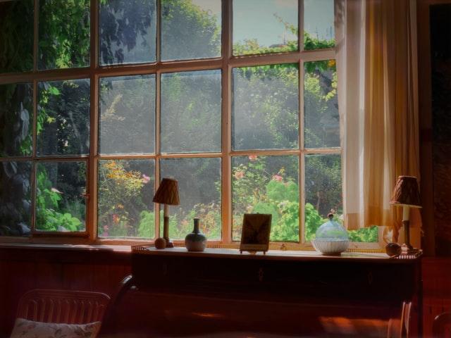 Giverny, intérieur de la maison de Monet