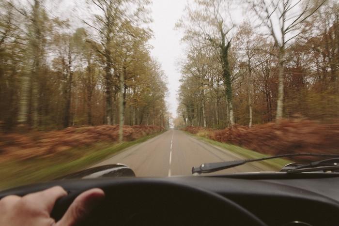 Point de vue conducteur Porsche 912