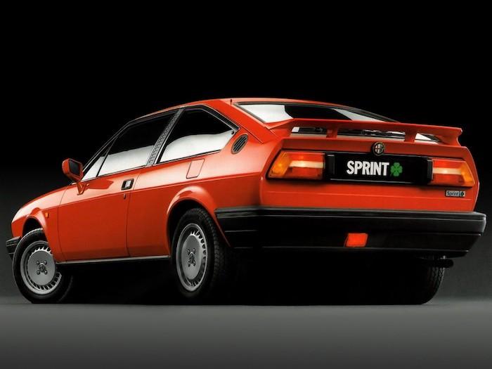 Alfa Romeo Sprint rouge